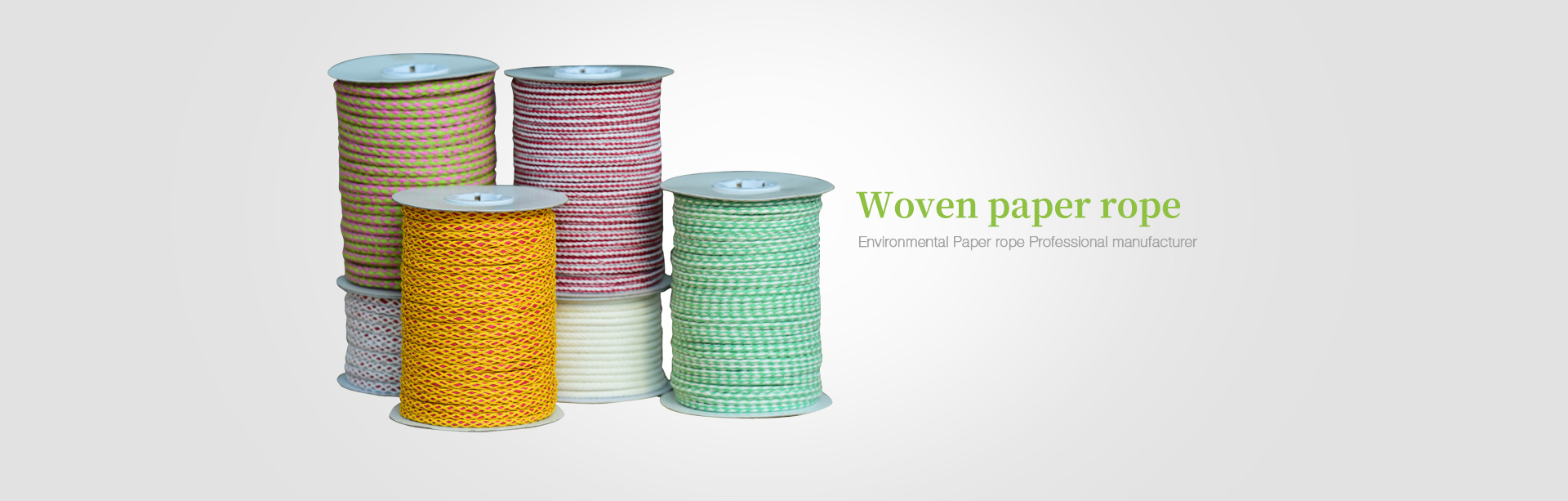 Braided Paper Twine Series